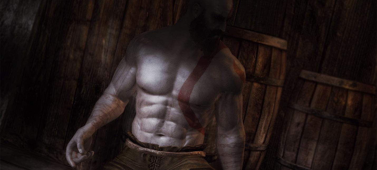 Новый мод для Skyrim добавляет в игру Кратоса из God of War