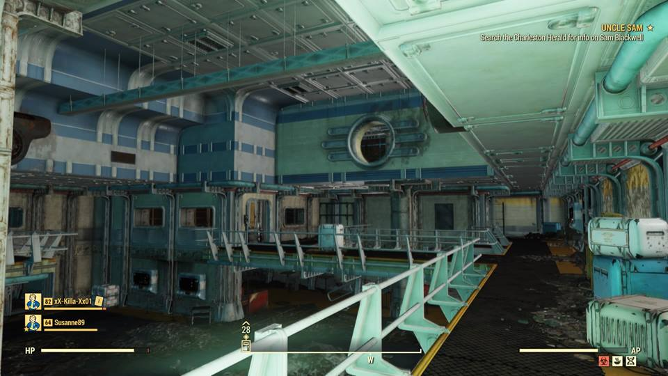 Игрок Fallout 76 случайно попал в закрытое Убежище 63
