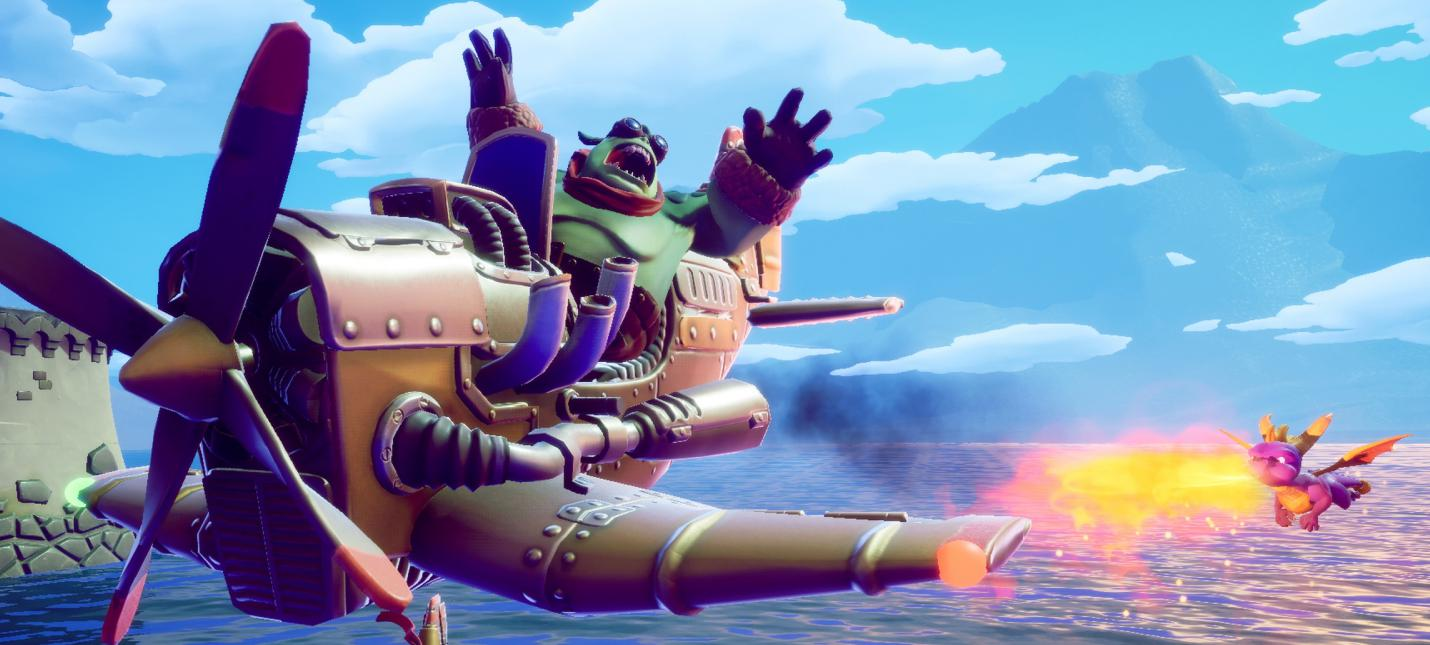 GameStop выставил дату релиза Spyro Reignited Trilogy на Nintendo Switch