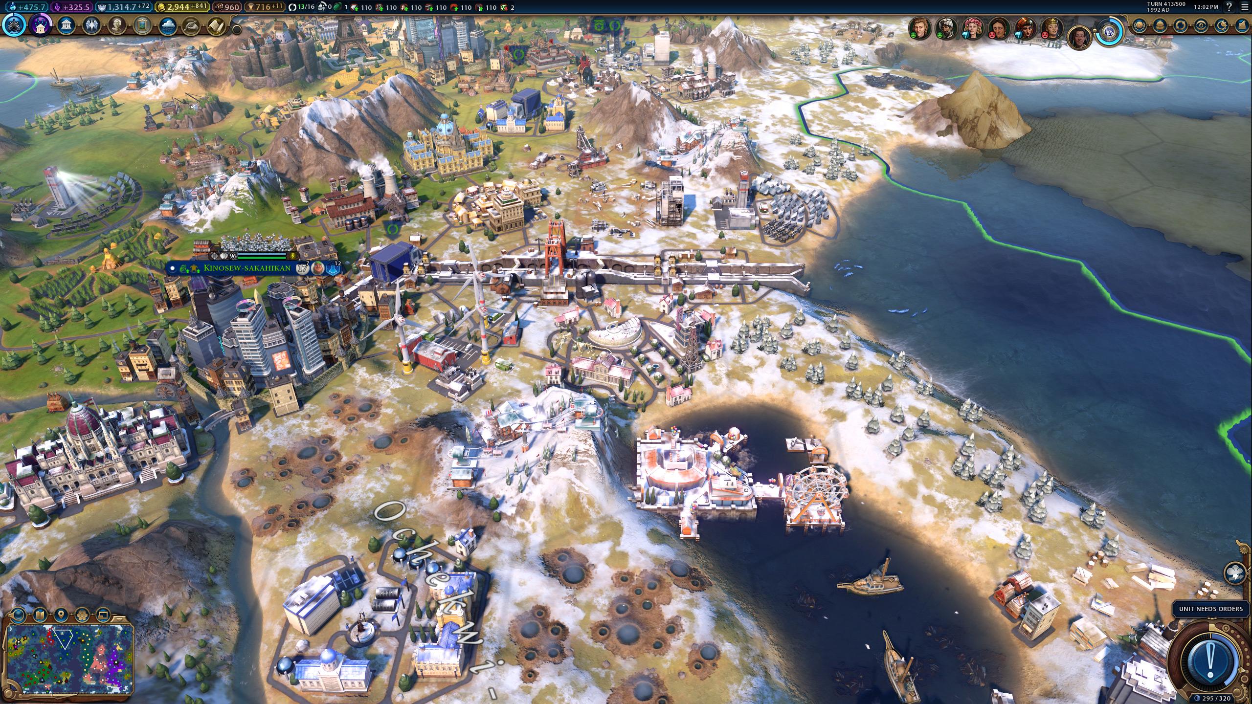 Обзор дополнения Civilization VI: Gathering Storm