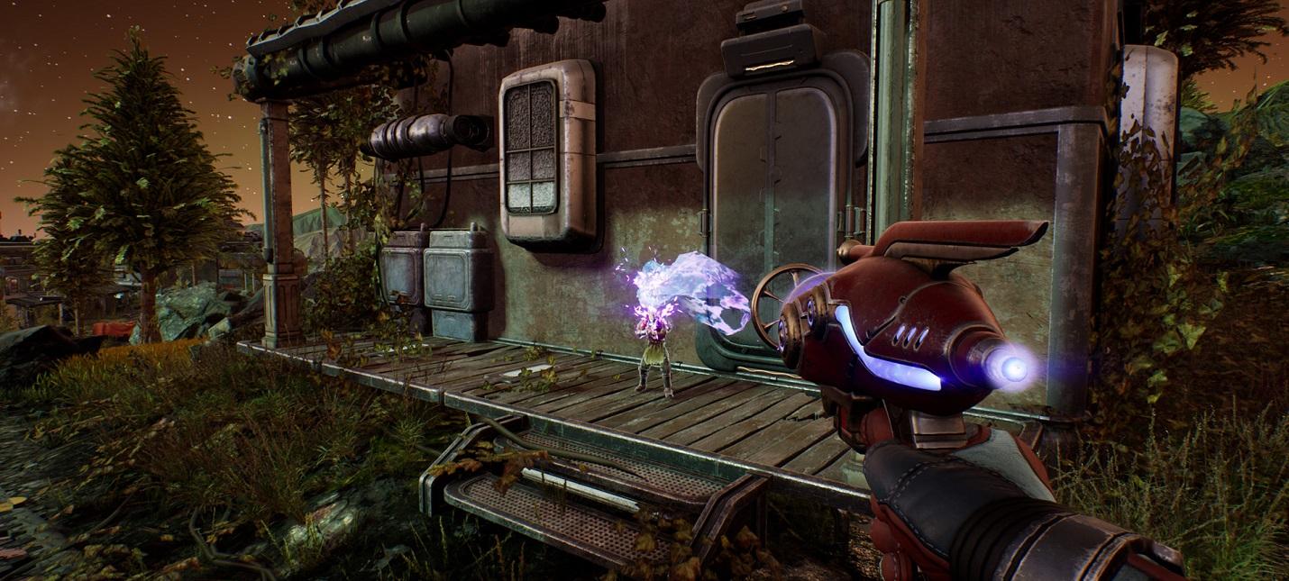 В The Outer Worlds можно убивать из научного оружия