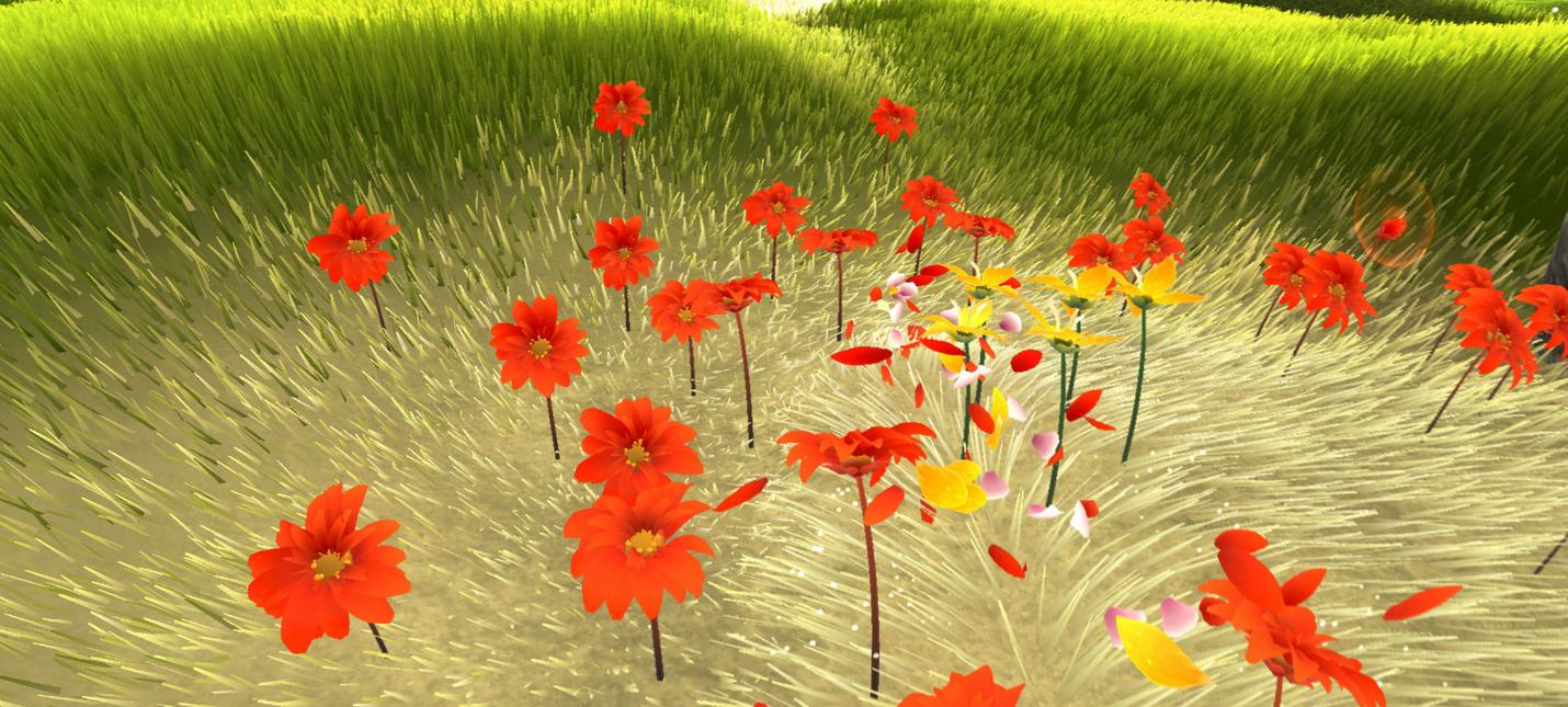 Flower от разработчиков Journey вышла на PC