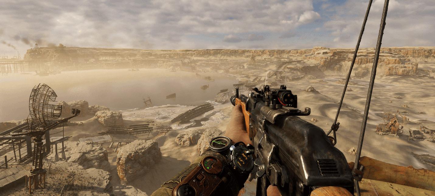 """Nvidia DLSS ощутимо """"мылит"""" картинку Metro Exodus даже после патча"""