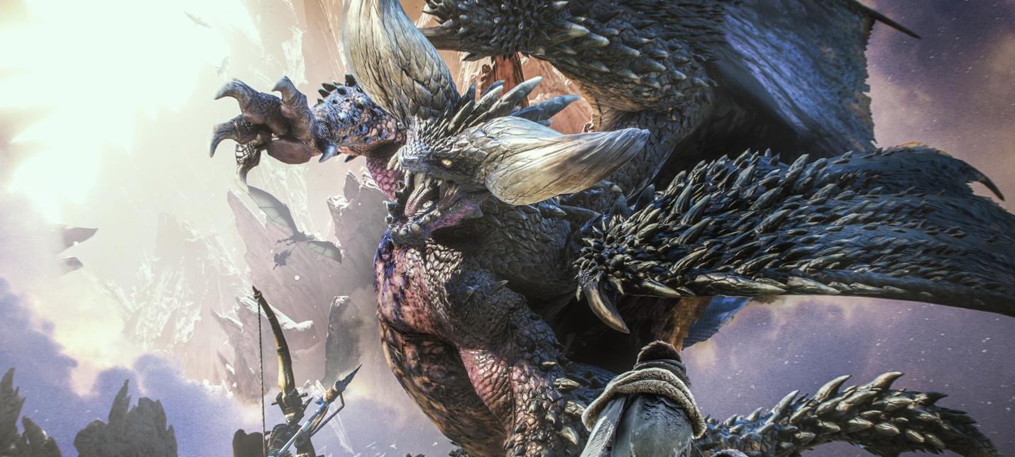 Monster Hunter: World стала самой продаваемой игрой 2018 года в Японии