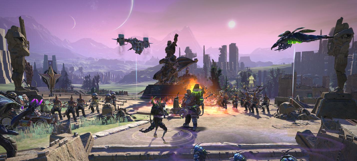 Новый сюжетный трейлер и дата релиза Age of Wonders: Planetfall