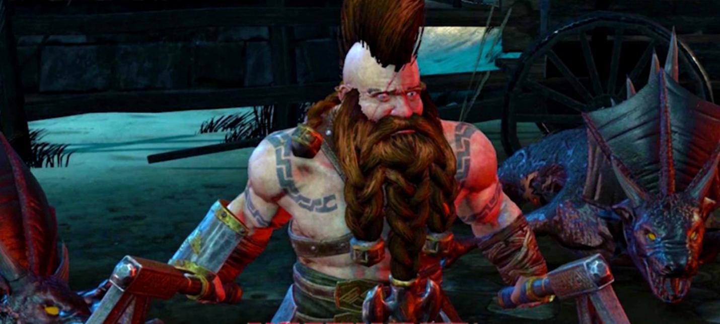 Новый трейлер Warhammer Chaosbane посвящен дварфу