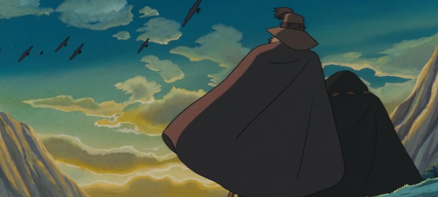 """Трейлер отреставрированной версии """"Навсикая из долины ветров"""" студии Ghibli"""