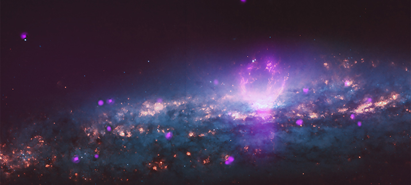 Этот рентгеновский супер-пузырь размером почти 5000 световых лет
