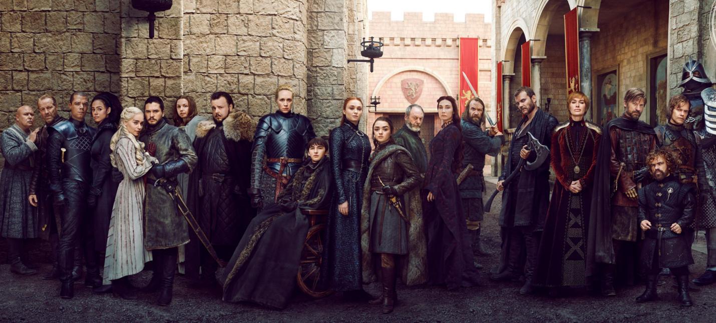 """16 персональных обложек EW и новые кадры восьмого сезона """"Игры престолов"""""""