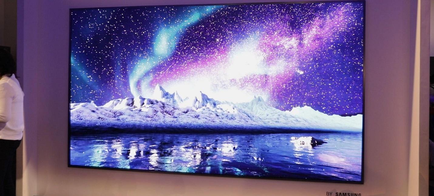 Samsung может выпустить беспроводной телевизор
