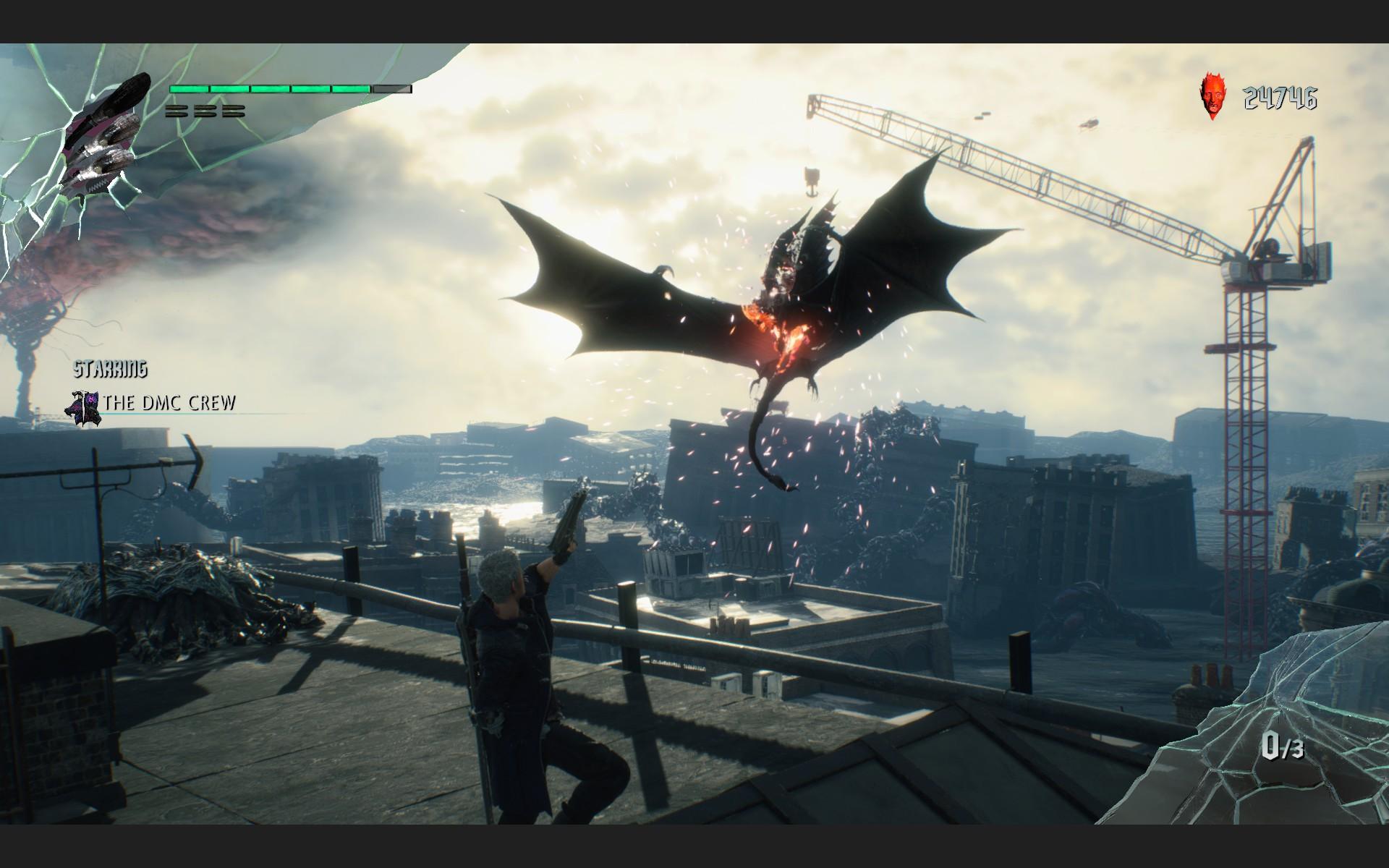 Атака на демонов: Обзор Devil May Cry 5