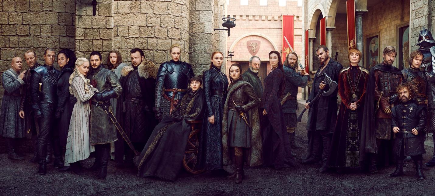 """Джордж Мартин не читал сценарий финального сезона """"Игры престолов"""""""