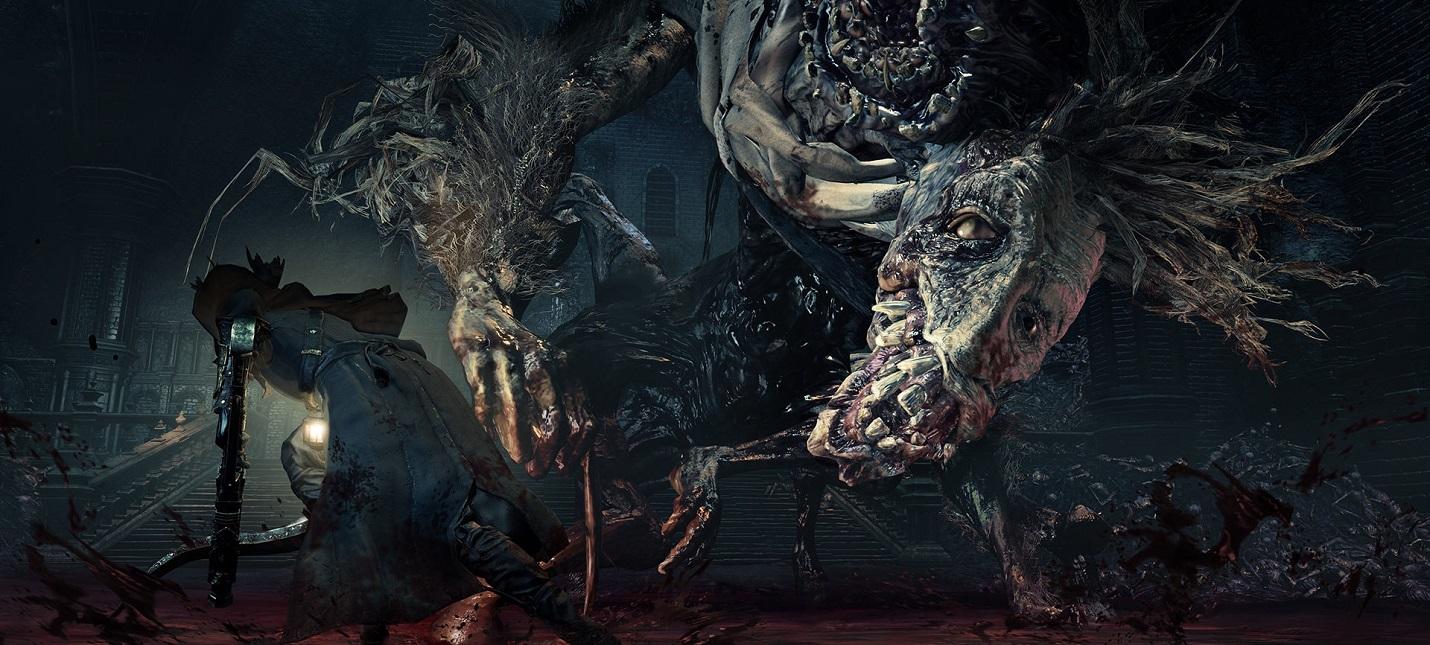 Один из самых сложных боссов Bloodborne был побежден без перекатов, бега и прокачки