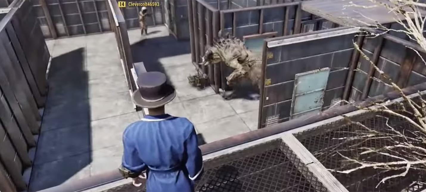 Игрок Fallout 76 создал лабиринт с Когтем Смерти