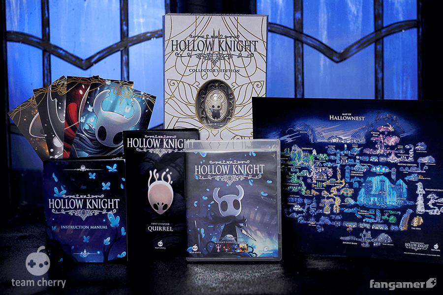 Hollow Knight получила коллекционное издание с брошью