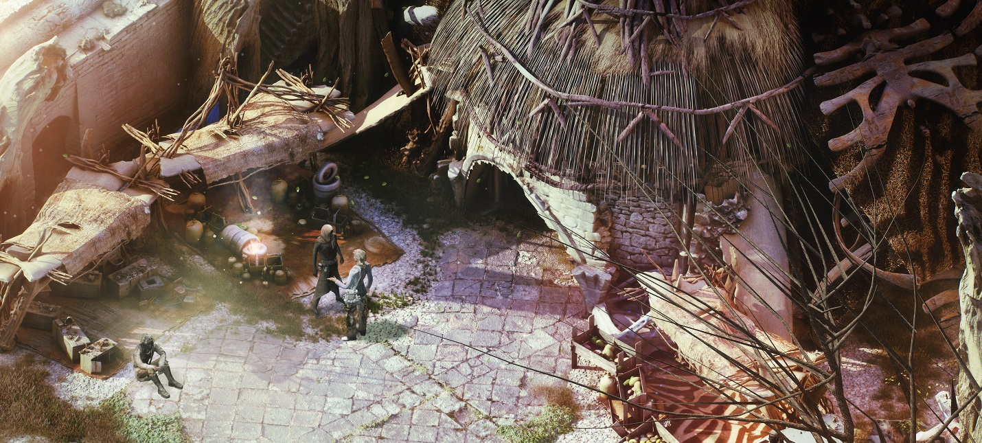 Опубликованы новые скриншоты Beautiful Desolation и часть саундтрека от Мика Гордона