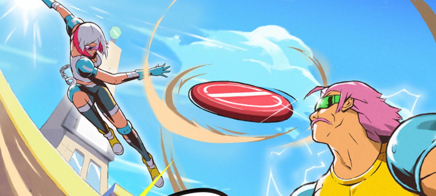 Дебютный геймплей спортивной аркады Windjammers 2