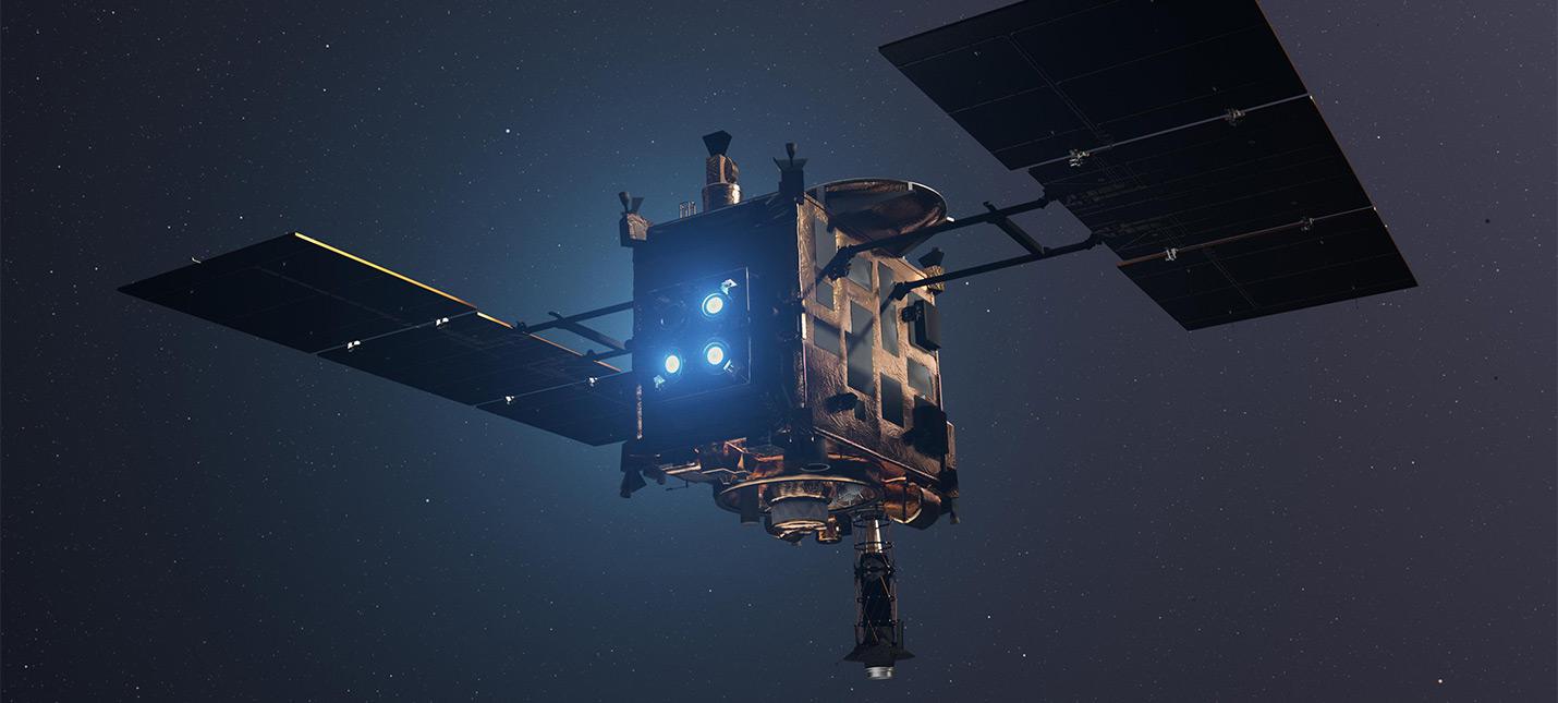 Япония взорвет астероид для сбора фрагментов