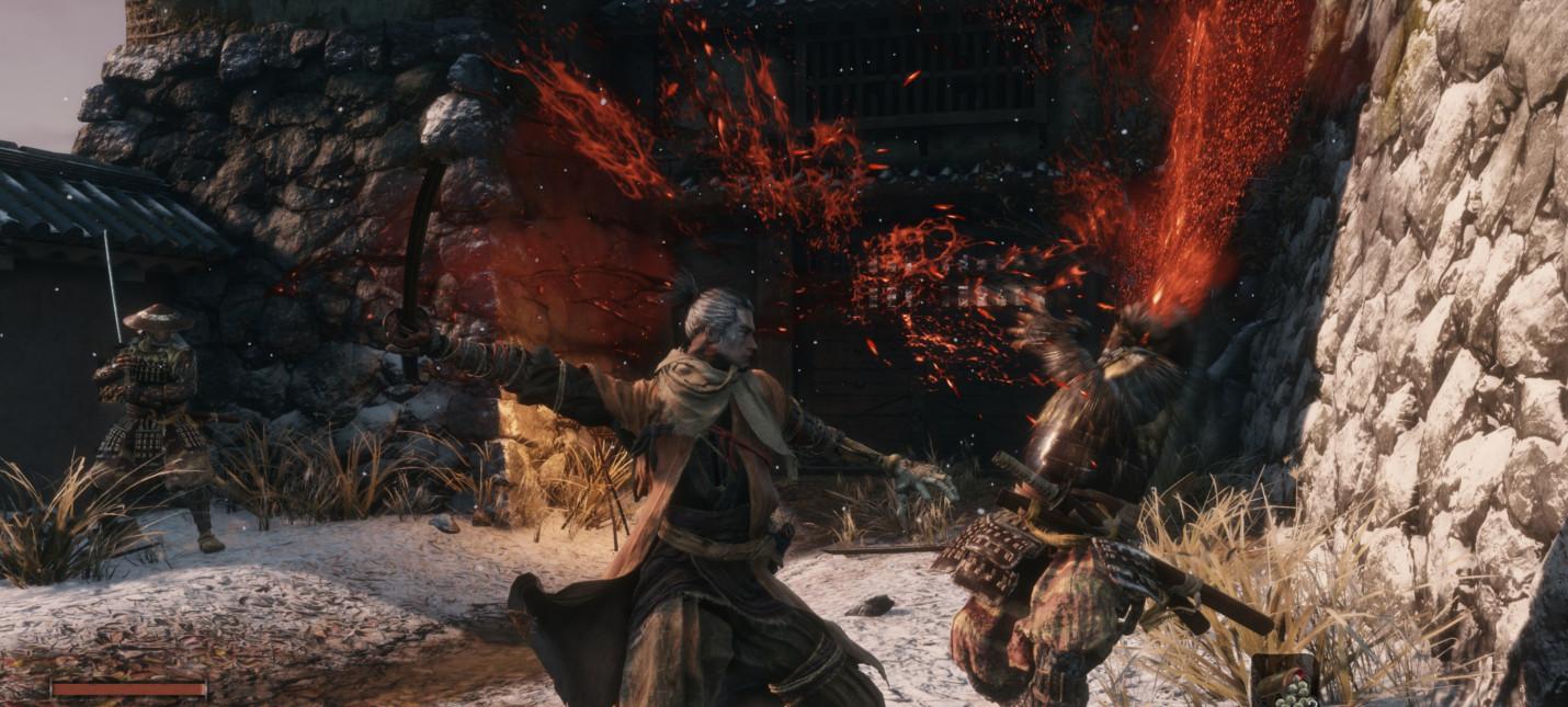 Игроки встретили в Sekiro: Shadows Die Twice внезапного врага