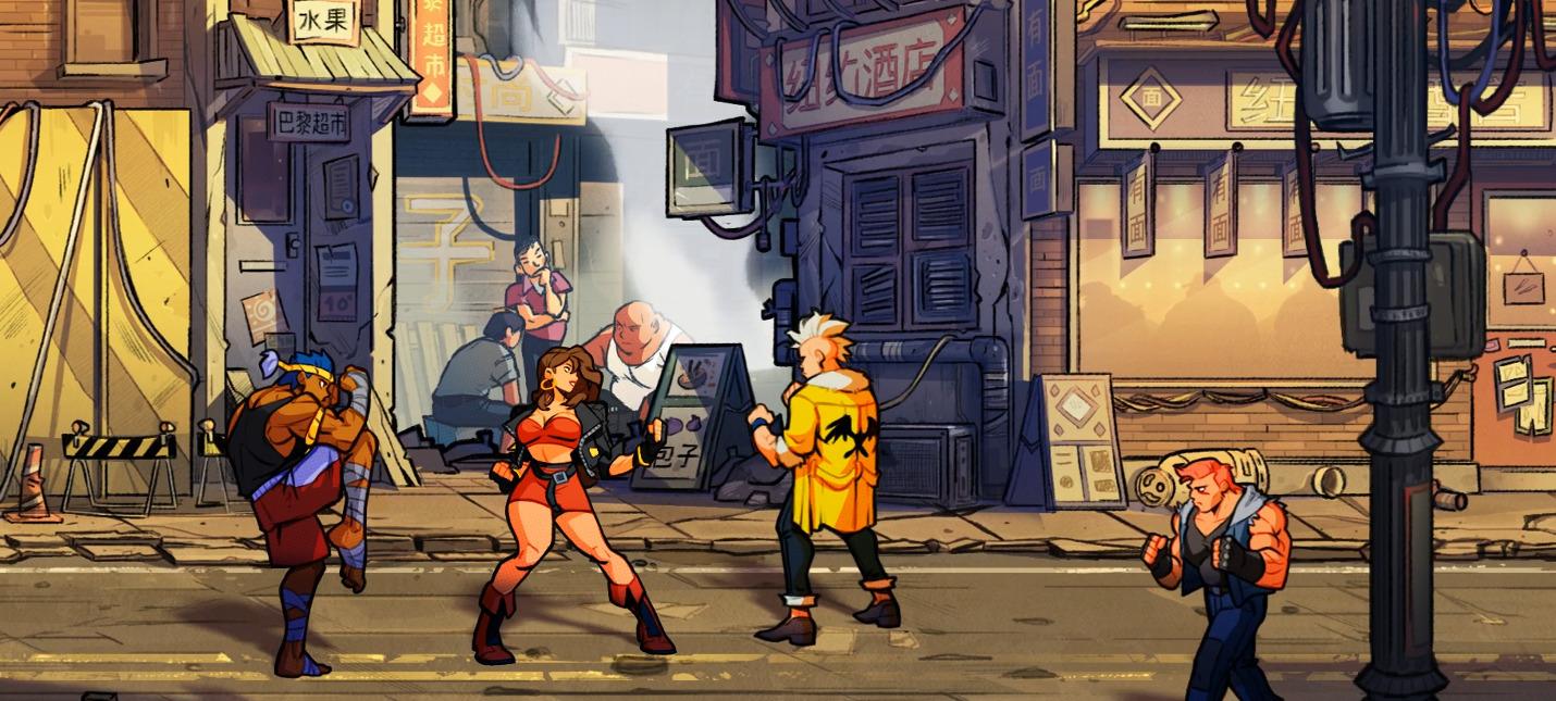 Первый геймплейный трейлер Streets of Rage 4