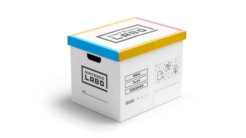 Nintendo выпустит коробку для хранения наборов Labo