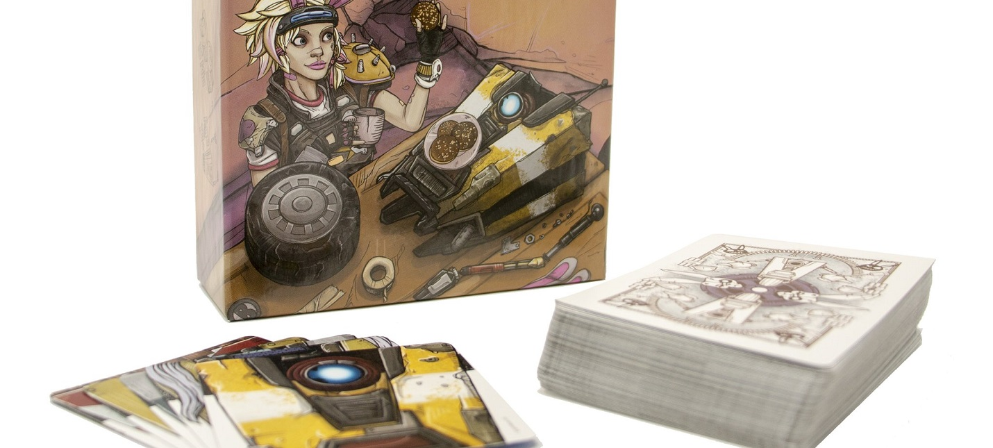 Gearbox анонсировала карточную игру Borderlands: Tiny Tina's Robot Tea Party