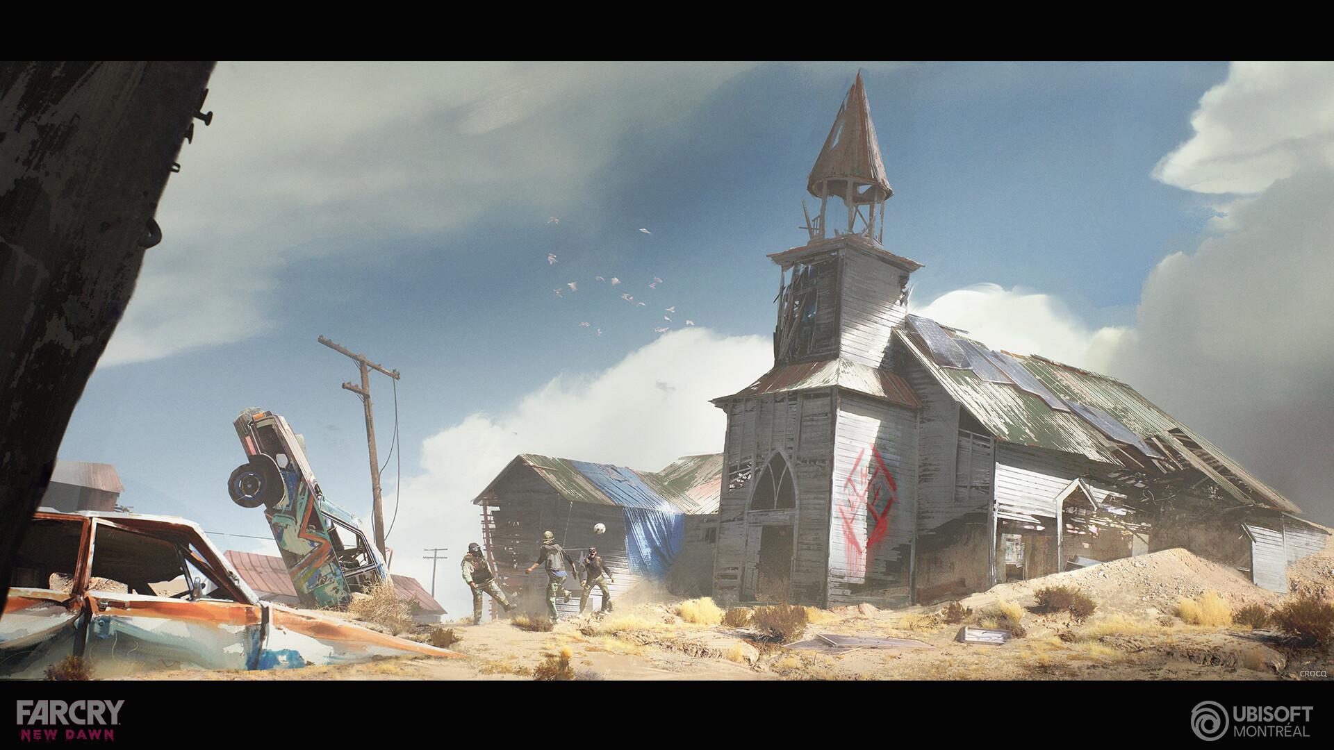 Концепты и арты Far Cry New Dawn от художников Ubisoft Montreal