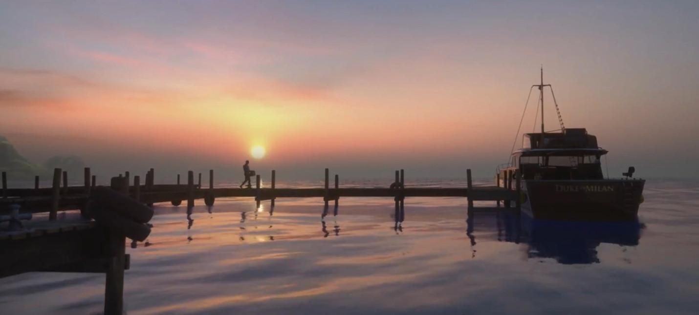 Новый видеодневник разработки Man of Medan посвятили симуляции океана