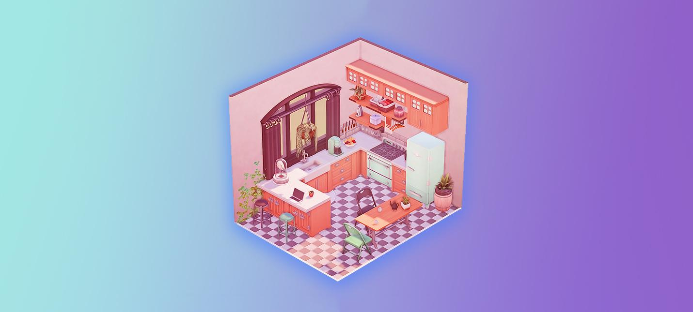 Игроки Sims создают милые кукольные домики