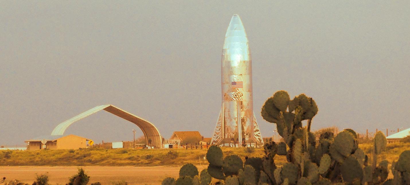 SpaceX успешно запустила двигатель прототипа Starhopper