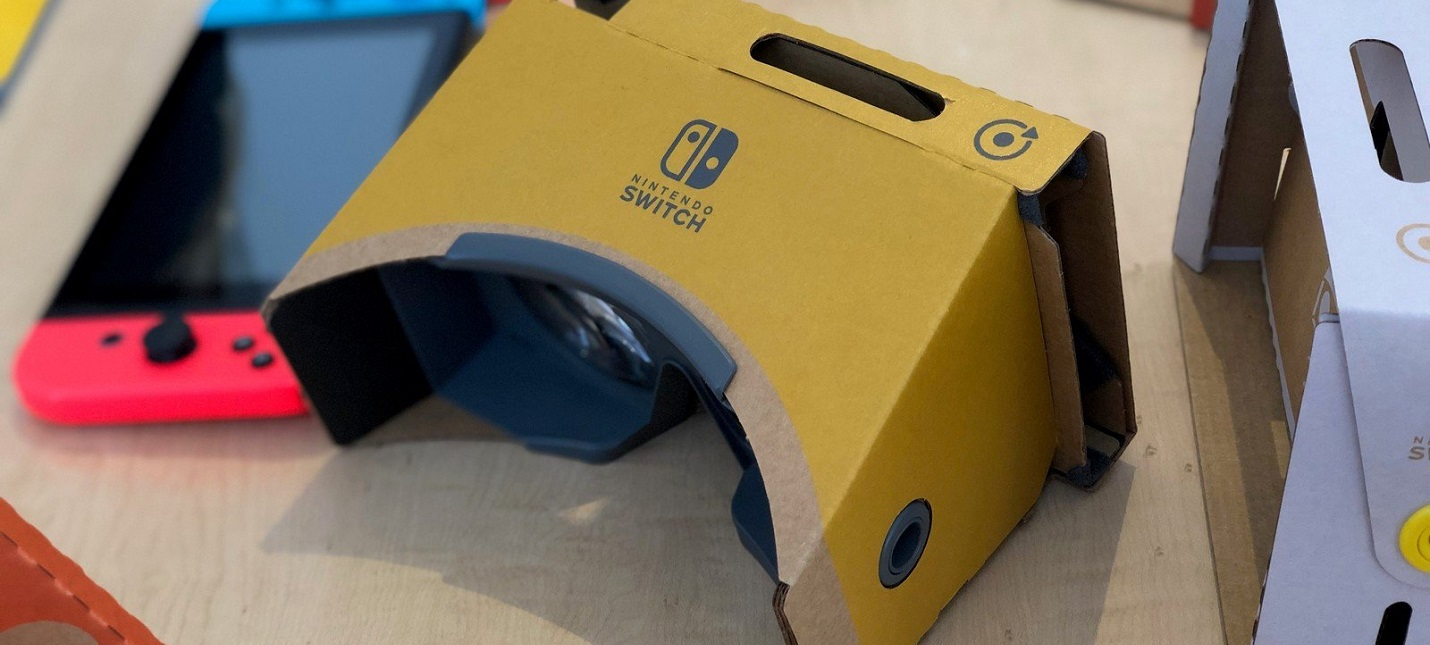 Super Mario Odyssey и Breath of the Wild получат поддержку Labo VR