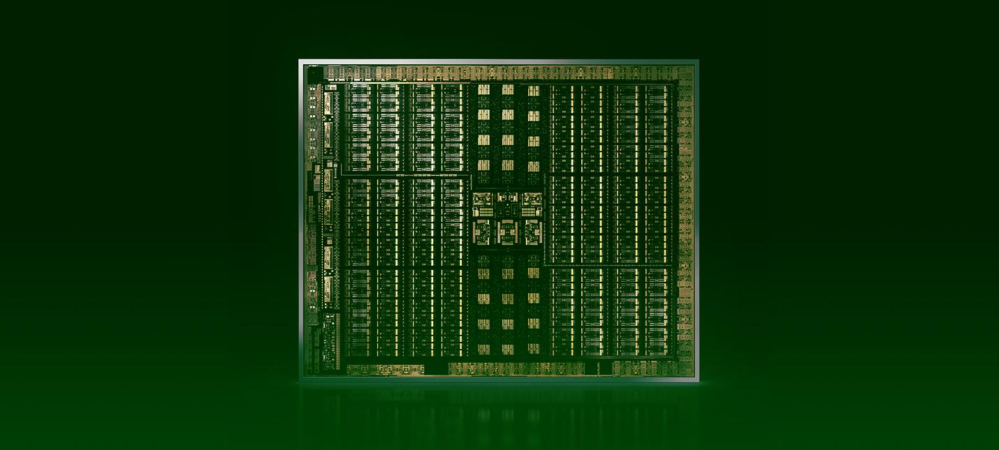 Nvidia готовит 36-модульный экспериментальный чип