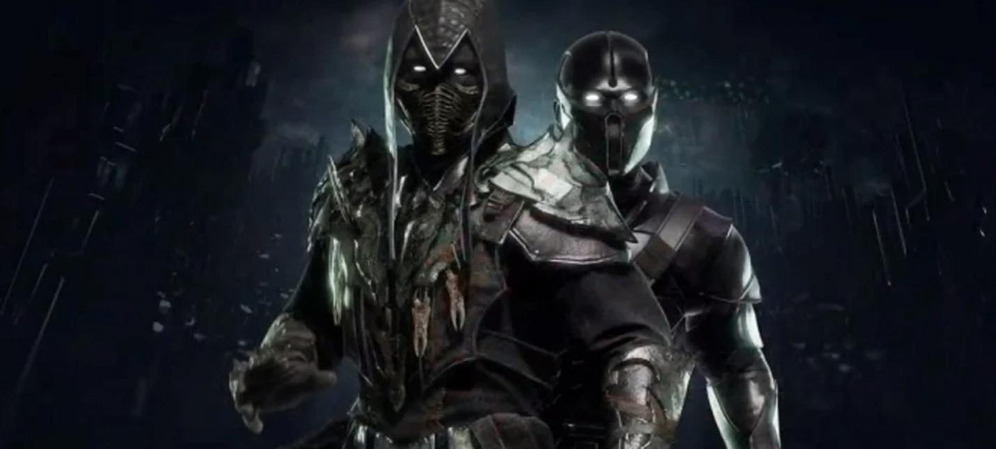 Нуб Сайбот против Сэтрион в новом геймплее Mortal Kombat 11