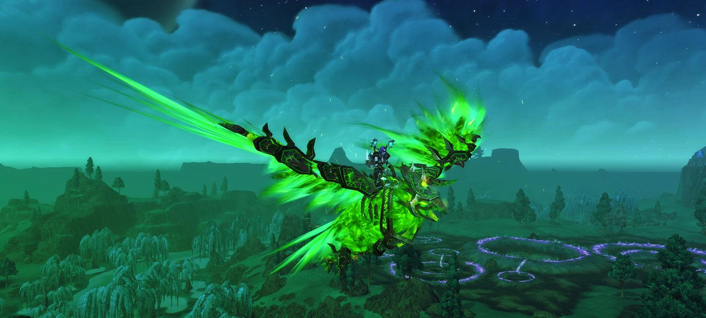 Следующий патч World of Warcraft добавит кастомизацию способностей маунтов