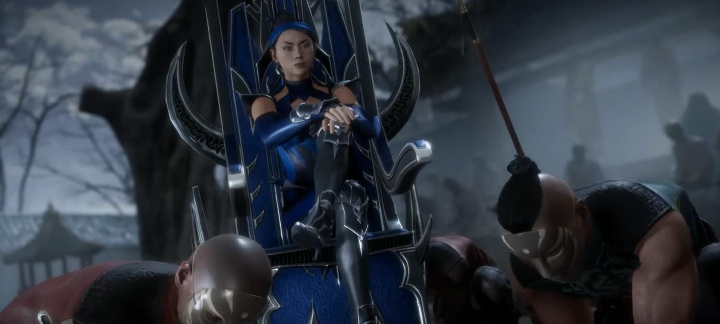 Китана в новом геймплейном трейлере Mortal Kombat 11
