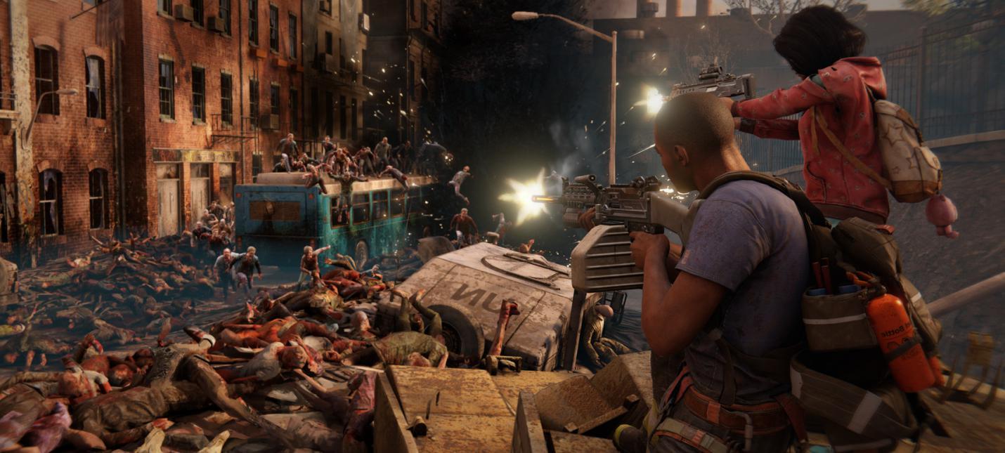 Нью-Йорк пал — 42 минуты геймплея World War Z