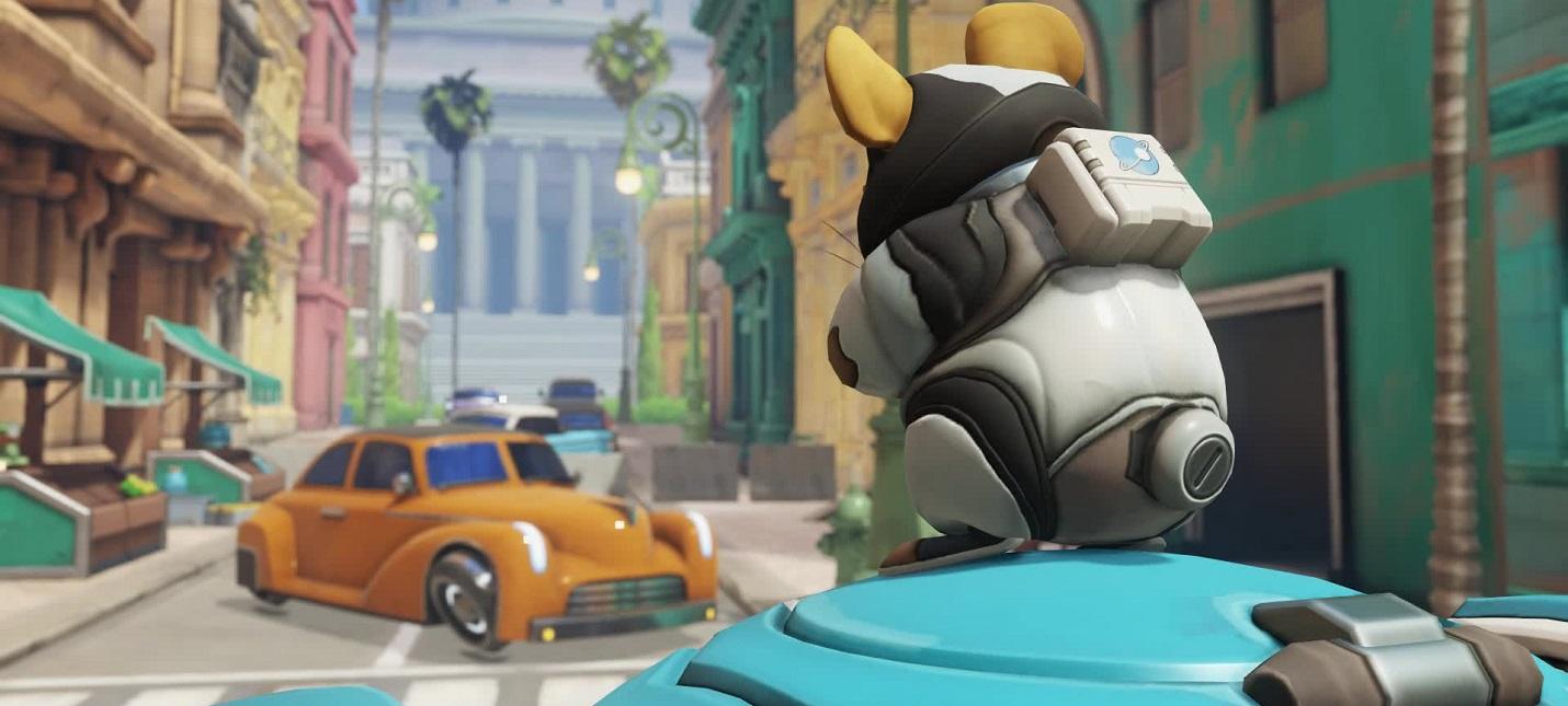 Новая интро-анимация Хаммонда из Overwatch похожа на мем с сусликом