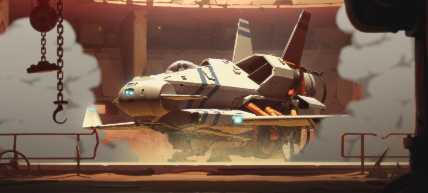 Очень много геймплея космического экшена Rebel Galaxy Outlaw