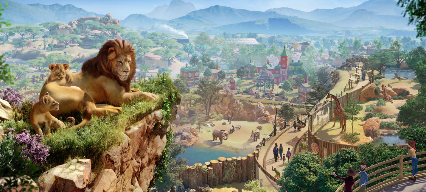 Разработчики Planet Zoo пообещали самых реалистичных животных в играх