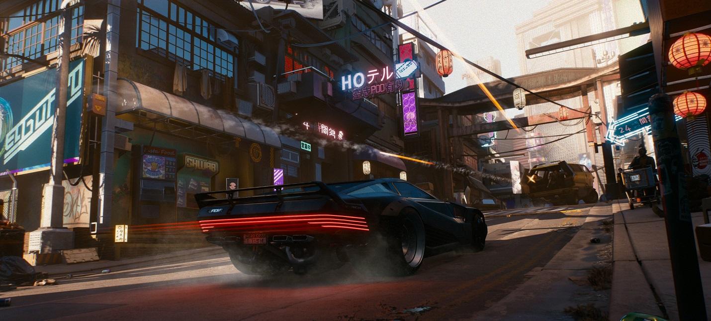 Трейлер Cyberpunk 2077 без музыки смотрится иначе