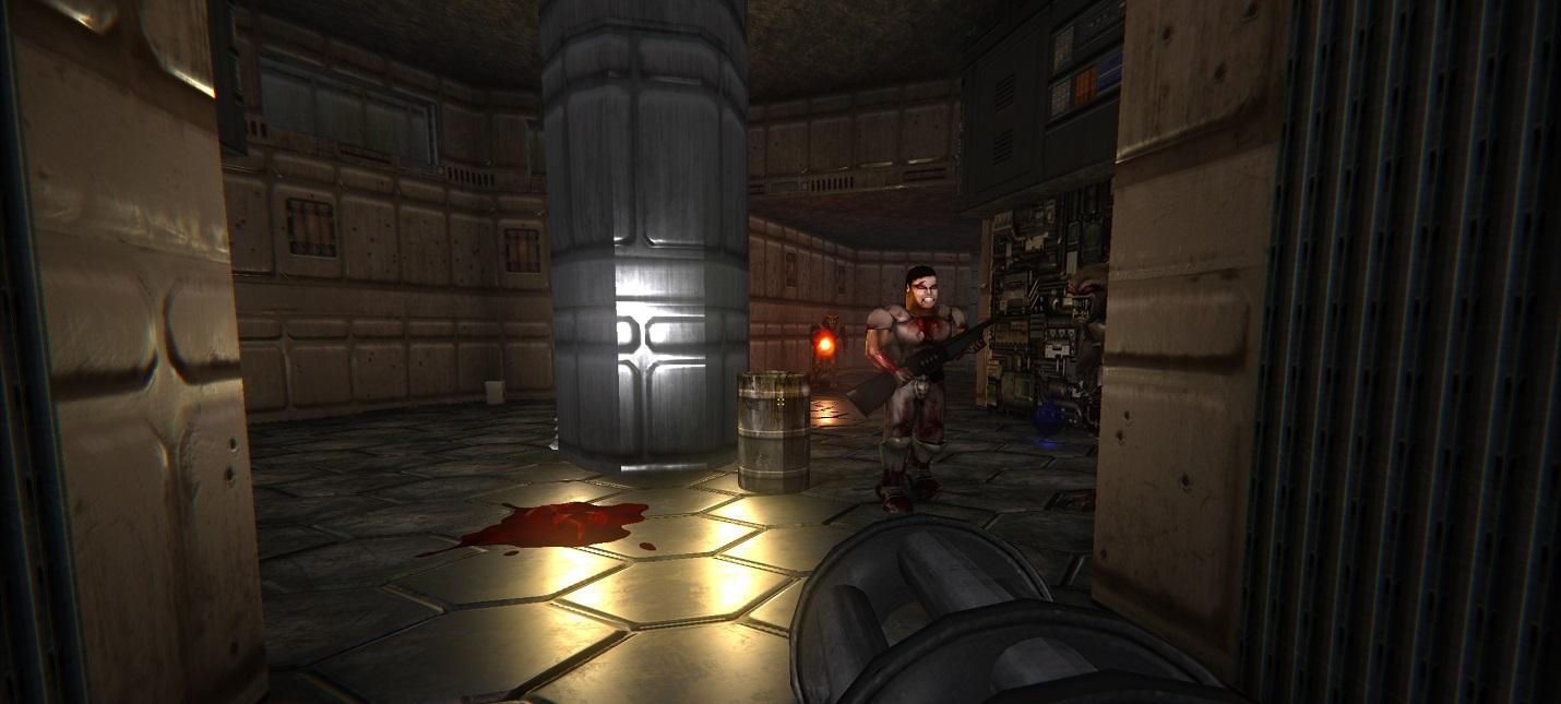Мод Doom Remake 4 получил новую версию c улучшенным освещением