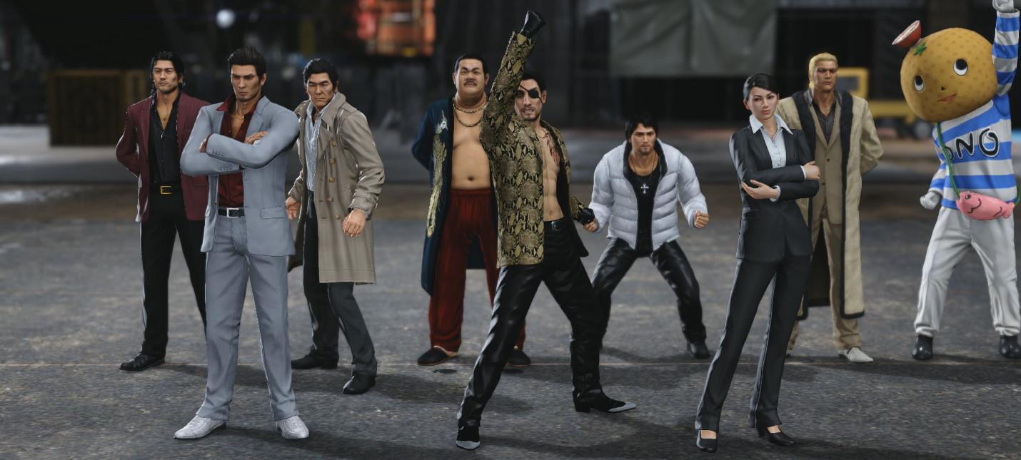 Yakuza Kiwami 2 вышла на PC в комплекте с бесплатным дополнением