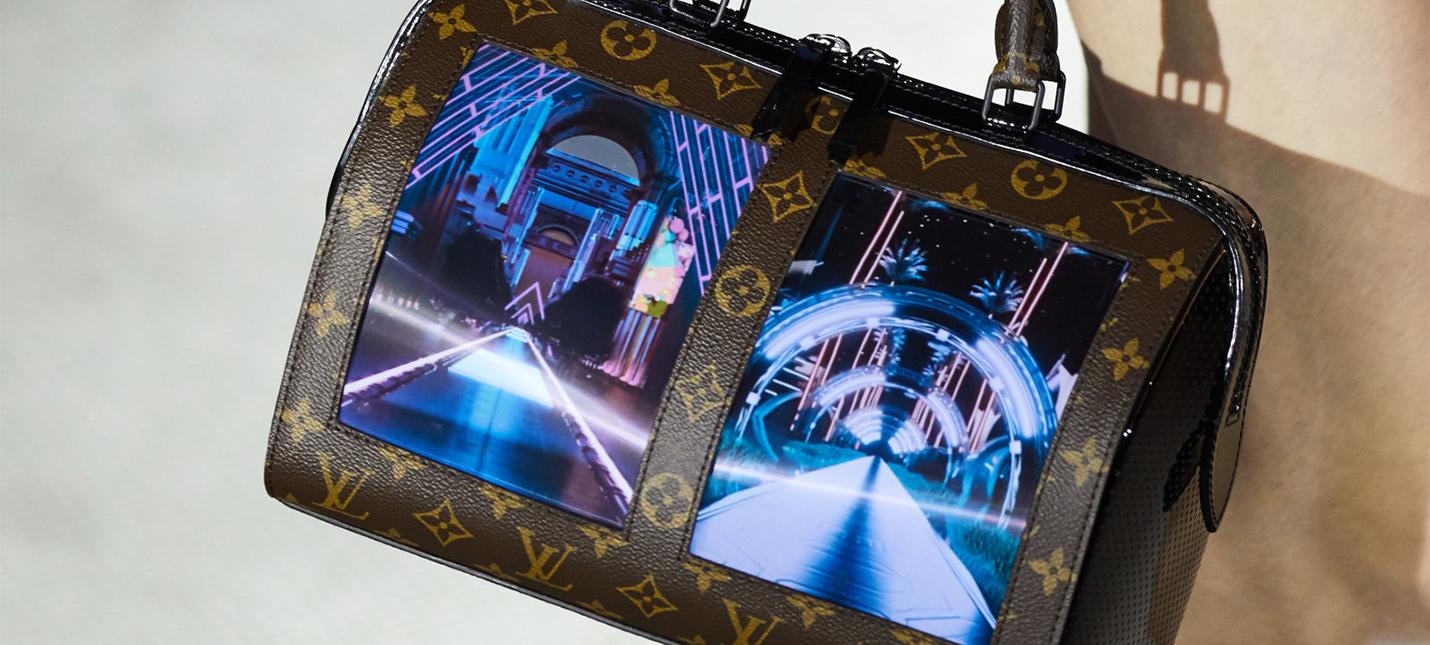 10507aaccd3a Сумки Louis Vuitton теперь оснащены гибкими дисплеями - Shazoo