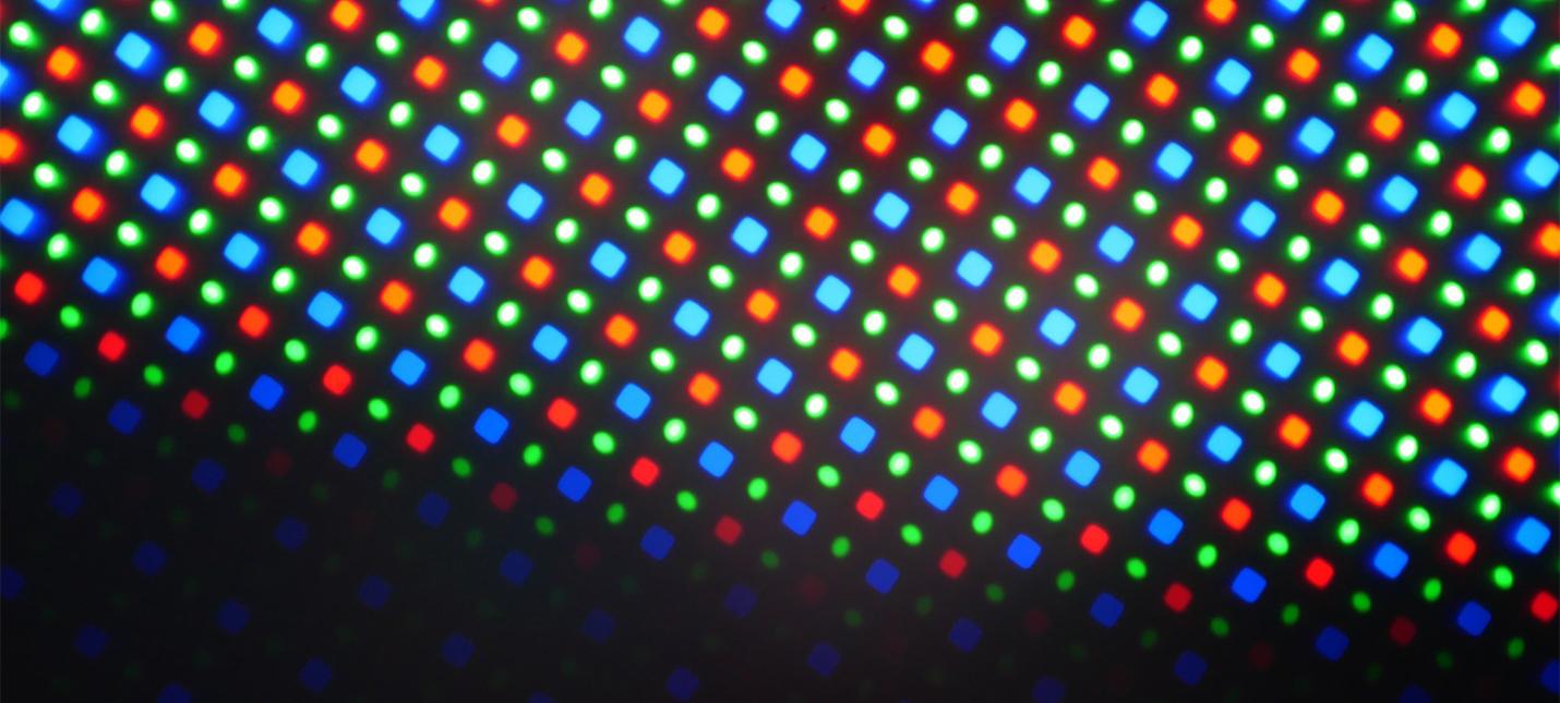 Ученые создали дисплей с пикселями в миллион раз меньше обычных