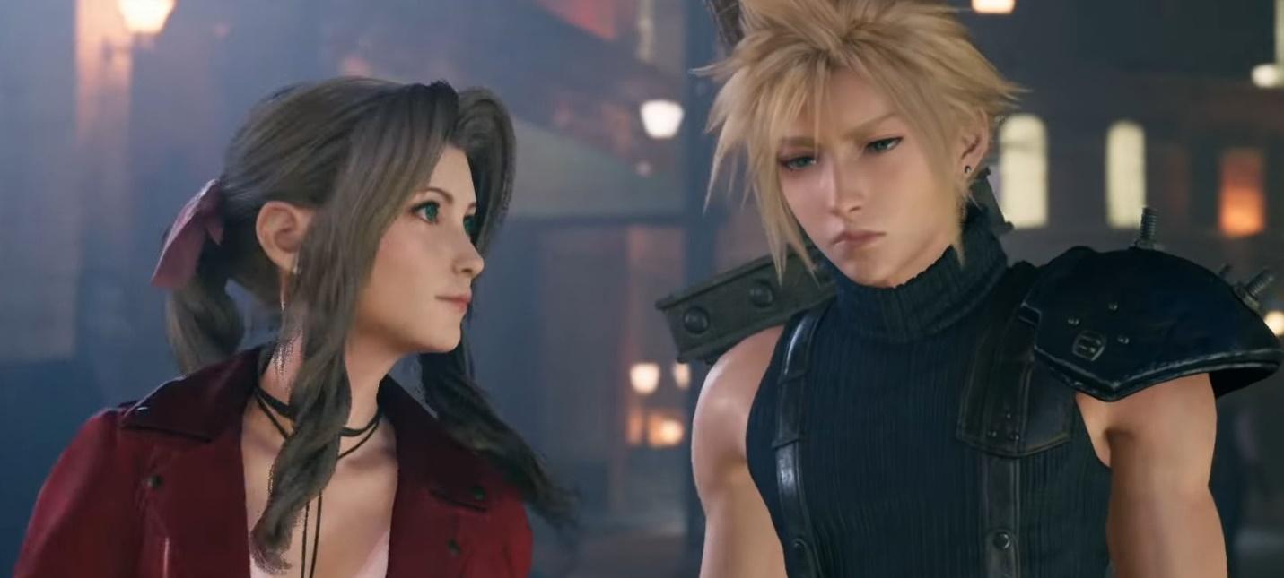 Сравнение двух тизеров Final Fantasy VII Remake