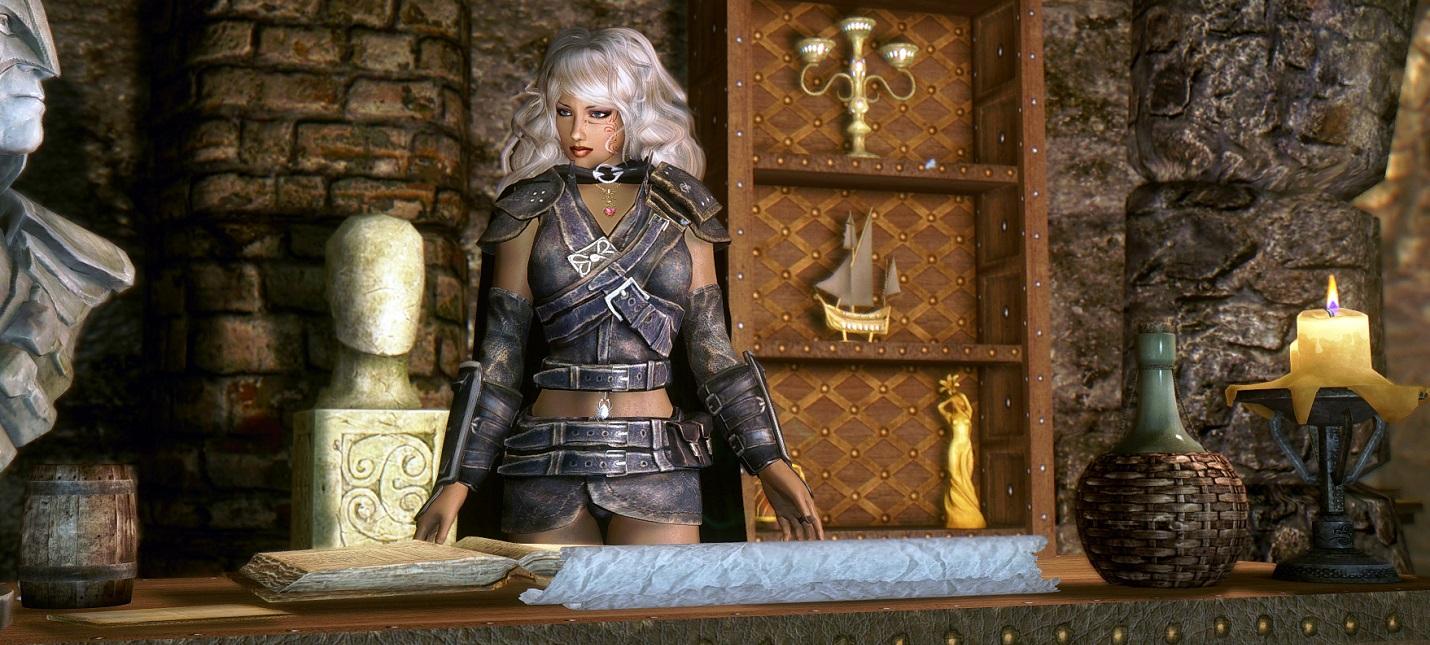 Моддер полностью переделал Гильдию Воров в Skyrim