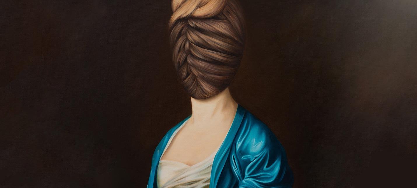 Что делать, когда не умеешь рисовать лица — странные портреты Евы Юшкевич