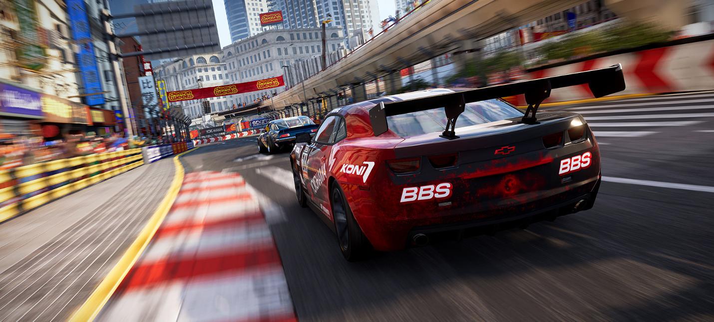 Codemasters анонсировала гоночный симулятор Grid
