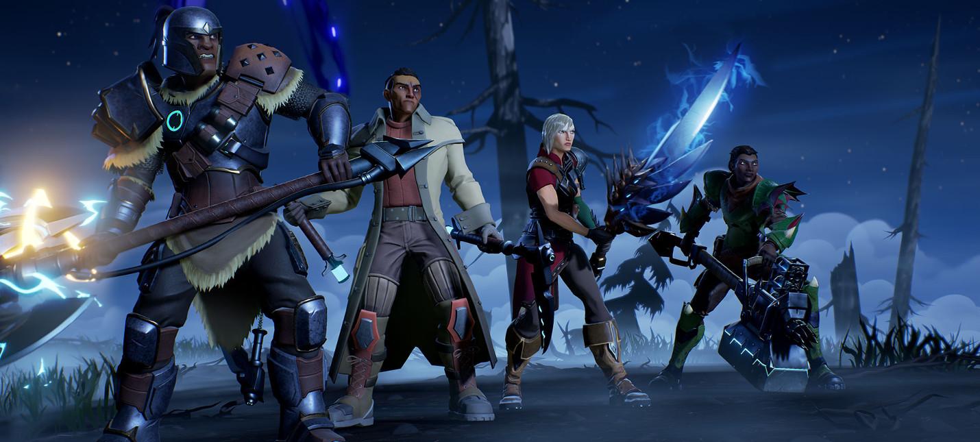Dauntless на PS4 уже поддерживает кроссплей с PC и Xbox One