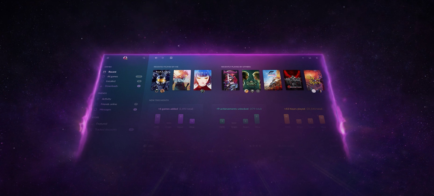 CD Projekt анонсировала ультимативный лаунчер GOG Galaxy 2.0, объединяющий PC и консоли
